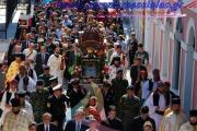 Εορτασμός της Παναγίας της Ελεήστριας στην Κορώνη.