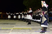 Ετήσια παράσταση των χορευτικών τμημάτων του Πολιτιστικου Συλλογου Κορωνης
