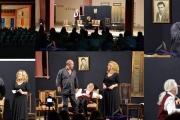Θεατρική παράσταση από το Θεατρικό Εργαστήρι - Η Αρκούδα του Α.Τσέχωφ σε σκηνοθεσία Σπύρου Ρουμελιώτη.