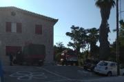 Εγκαταστάθηκε κλιμάκιο της πυροσβεστικής στο Πανόραμα της Κορώνης
