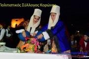 Το λαογραφικό έθιμο του κλήδονα αναβίωσε και φέτος στην Κορώνη