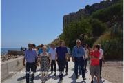 Το Κάστρου της Κορώνης επισκέφθηκε ο πρώην Πρωθυπουργός Αντώνης Σαμαράς.