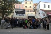Αποχαιρετισμος φοιτητών και καθηγητών του Μετσόβιου Πολυτεχνείου