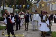 Την Προστάτιδά της, Παναγιά Ελεήστρια εόρτασε σήμερα με κάθε μεγαλοπρέπεια η Κορώνη